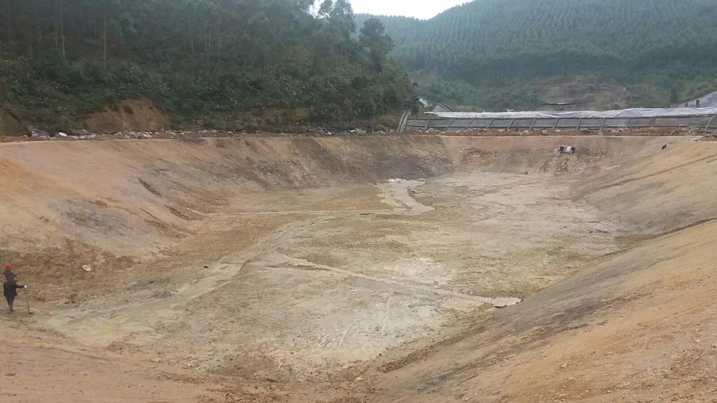 柳州罗城土工材料案例  土工膜案例 第4张