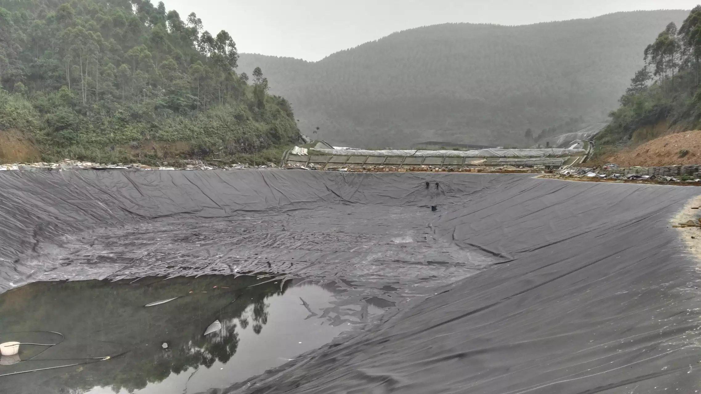 柳州罗城土工材料案例  土工膜案例 第5张