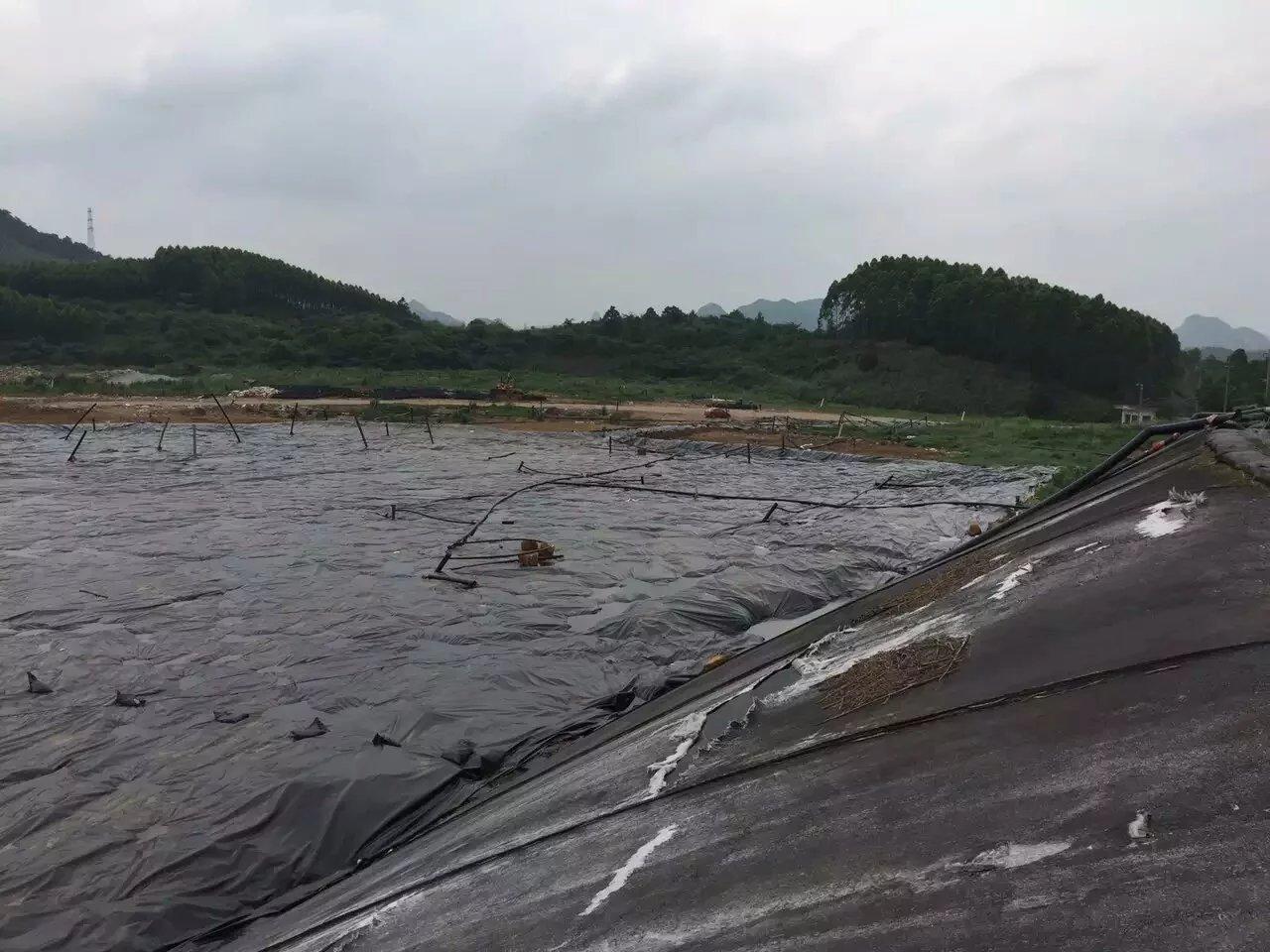 柳州立冲沟城市垃圾填埋场覆盖工程