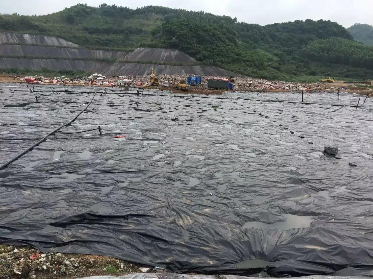柳州立冲沟城市垃圾填埋场覆盖工程  垃圾填埋场案例 第4张