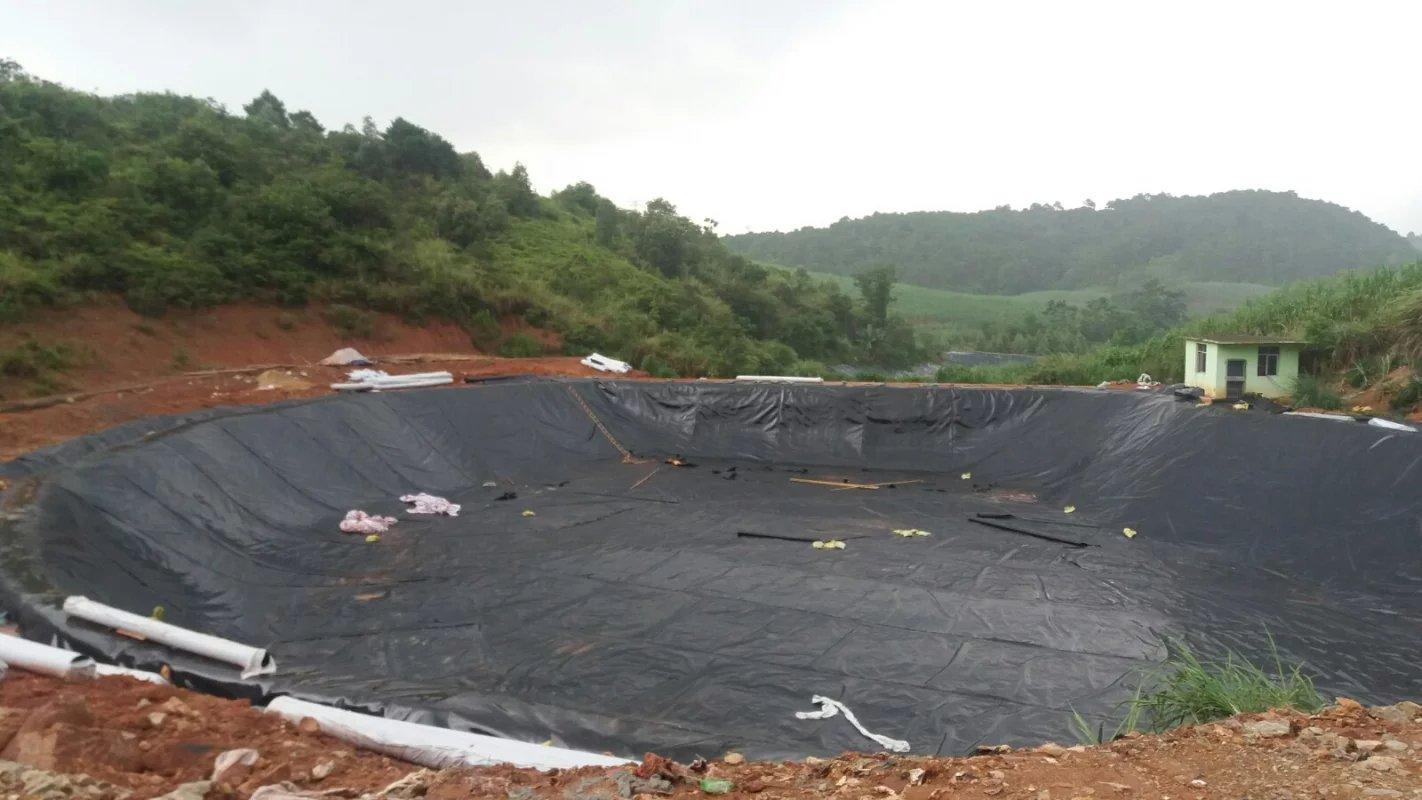 垃圾填埋场如何正确使用HDPE土工膜